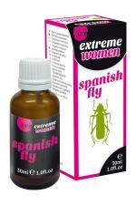 Aphrodisiaque Spanish Fly extrême femme - Ero