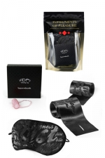 Set Instruments de Plaisir - Rouge : Un pack de 3 accessoires coquins niveau Rouge proposé par Bijoux Indiscrets.