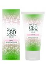 Crème de masturbation Femme - Natural CBD : Crème de masturbation pour Femme qui intensifie les sensations, à base de CBD. Flacon spray de 50 ml.