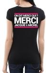 Tee-shirt  J&M noir - spécial  femme