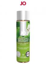 Lubrifiant aromatisé pomme 120 ml : Lubrifiant aromatisé comestible parfum pomme au format 120 ml de la marque Américaine System Jo.