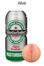Masturbateur vagin humoristique - Alive - Associez le fun au plaisir avec ce  Masturbateur de marque Alive en forme de canette de bière,
