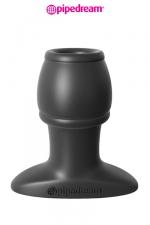 Open Wide Tunnel Plug : Plug anal traversé par un tunnel, en silicone haute qualité, 6,1 cm de longueur insérable par 3,7 cm de diamètre maxi.