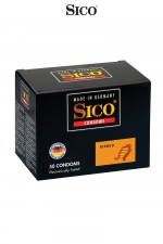 50 préservatifs Sico RIBBED