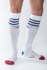 Chaussettes Mister B URBAN Gym blanches - Chaussettes de sport haute qualité, by Mister B (version blanche).